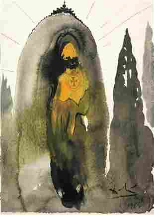 Salvador Dali - Who Will Go Up the Mountain of the Lord