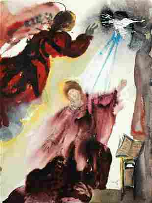 Salvador Dali - The Annunciation to Mary