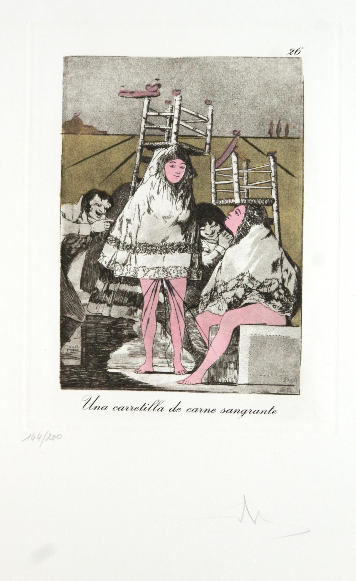 Salvador Dali - Una Carretilla de Carne Sangrante, #26