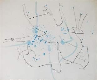 "Joan Miro - Untitled XI from ""Flux de l'Aimant"""