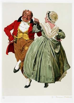 Norman Rockwell - Dancing Partners