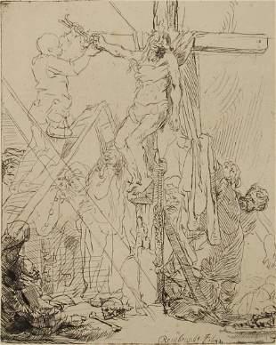Rembrandt van Rijn (After) - Descente De Croix