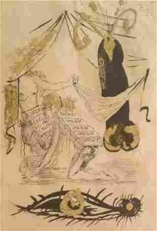 Salvador Dali - A la memoire de Zulma