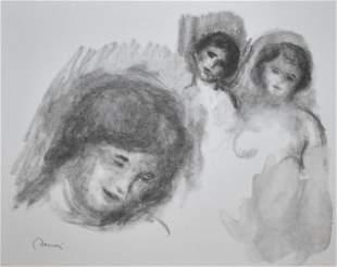 Pierre-Auguste Renoir - La Pierre au Trois Croquis