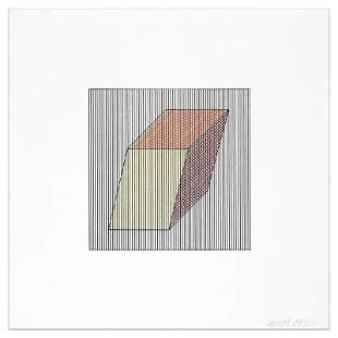 Sol LeWitt - Plate #19