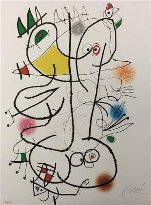 Joan Miro - Untitled