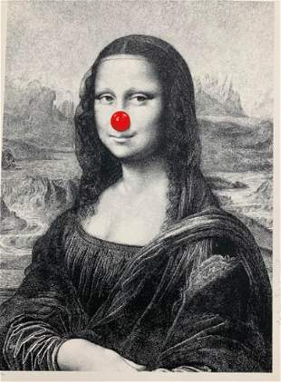 Mr. Brainwash - Mona Keep Smiling