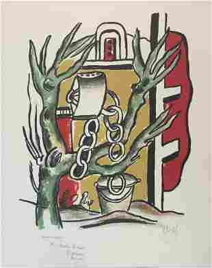 Fernand Leger - Le Puits