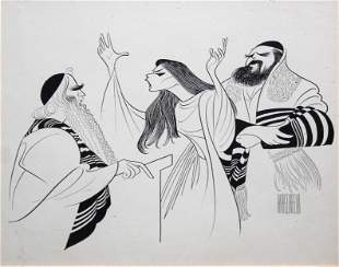 Al Hirschfeld - The Dybbbuk