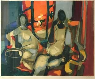 Marcel Mouly - Les Deux Debutantes