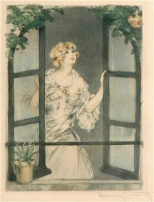 Louis Icart - Spring