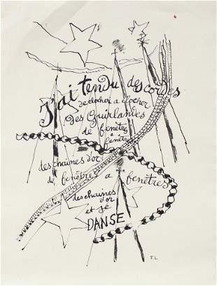 Fernand Leger - J'ai Tendu Des Cordes