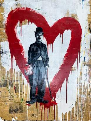 Mr. Brainwash - Charlie Chaplin (Unique)