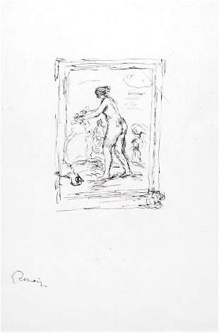 Pierre-Auguste Renoir - Femme Au Cep de Vigne (3rd