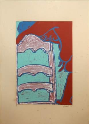 George Segal - Untitled (Chair)