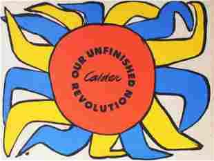 "Alexander Calder - Portfolio Cover from ""Our Unfinished"