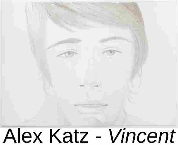 Alex Katz - Vincent