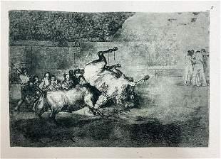 Francisco Goya - La Tauromaquia B