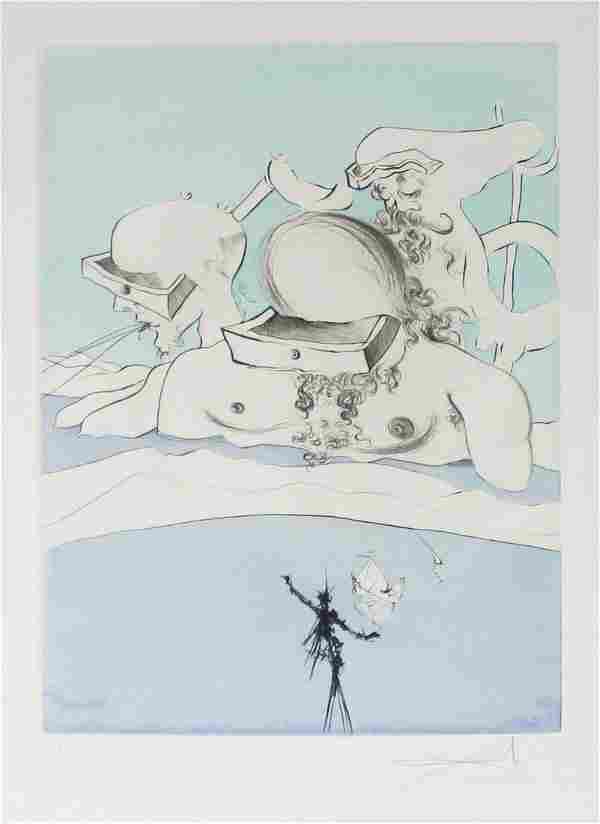 Salvador Dali - Expulse Comme un Megot par des Magots