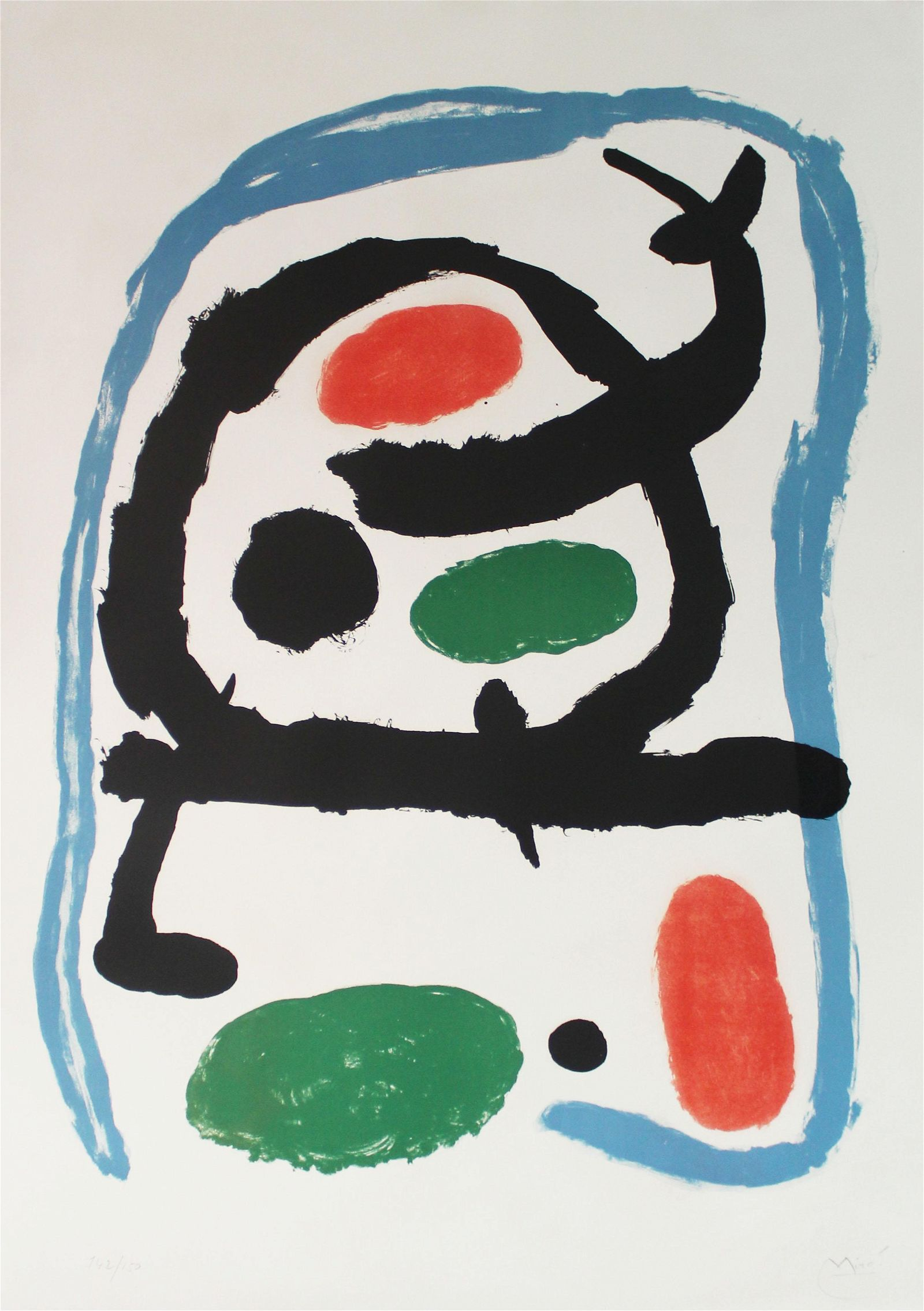 Joan Miro - Poster for Miro Exhibition at the Musee