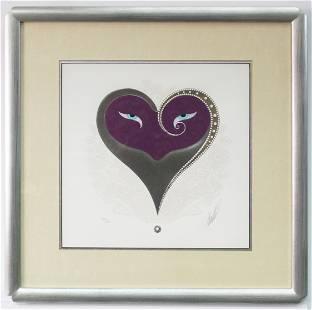 Erte - Purple Heart