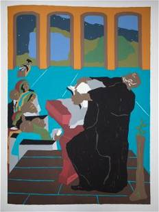 Jacob Lawrence - And God created the day and the night