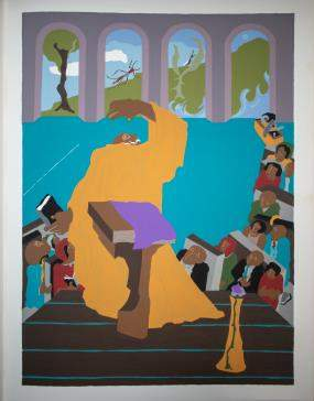 Jacob Lawrence - And creation was done and all was
