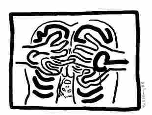 Keith Haring - Untitled from Bad Boys