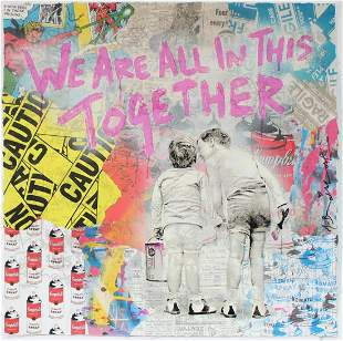 Mr. Brainwash - We Are All in This Together (Pink)