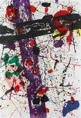"""Sam Francis - Untitled from """"Eight by Eight"""""""