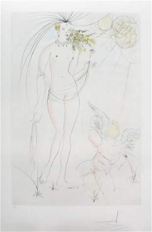 Salvador Dali - Venus et l'Amour