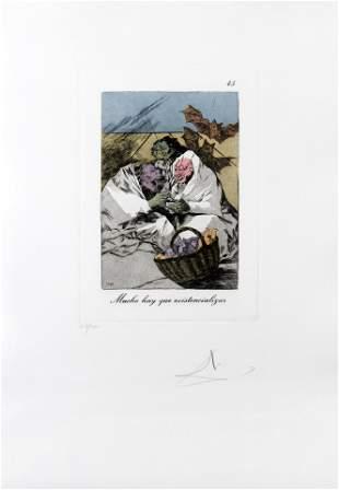 Mucho hay que existencializar by Salvador Dali, #45