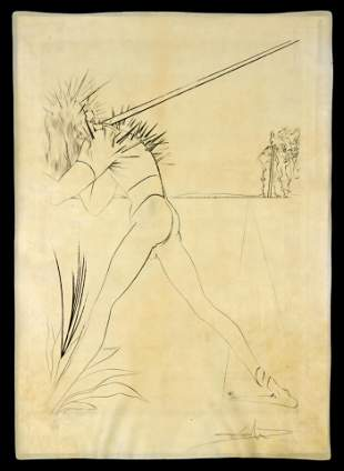 Salvador Dali - Untitled from Babylone Suite