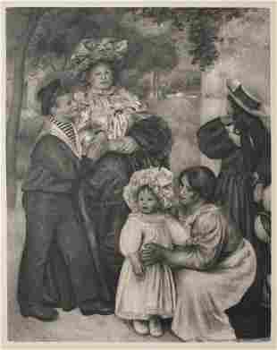 Pierre-Auguste Renoir (After) - La Famille de l