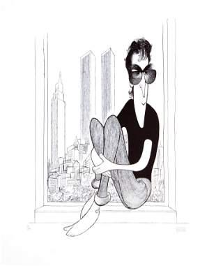 Al Hirschfeld - John Lennon