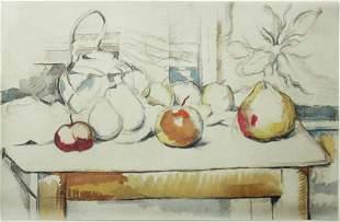 Paul Cezanne (After) - Le pot de gingembre et les
