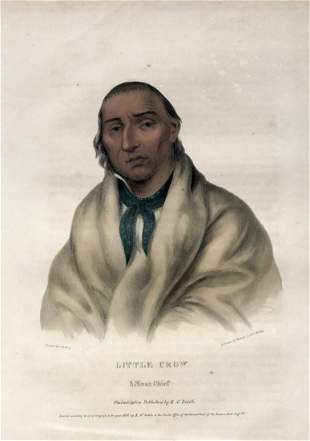 Charles Bird King - Little Crow A Sioux Chief