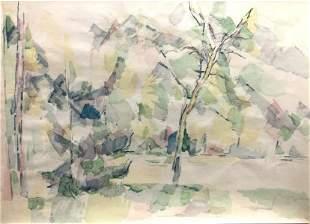 Paul Cezanne (After) - Sous-bois