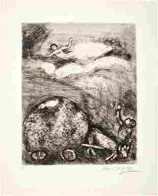 Marc Chagall - Le Chartier Embourbé