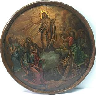 Unknown Artist - Icon of the Transfiguration of Christ