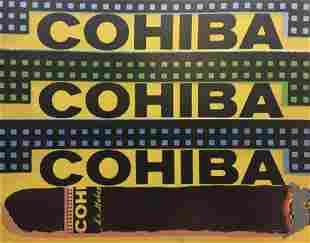 Steve Kaufman - Cohiba III