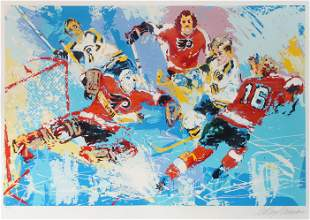 Leroy Neiman - Philadelphia Flyers