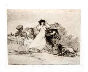 Francisco Goya - Que alboroto es este