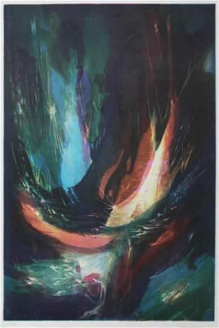 Leonardo Nierman - Untitled Abstract