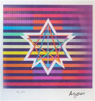 Yaacov Agam - Stars of Peace