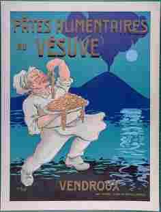 A.M. Pinetti - Pates Alimentaires au Vesuve