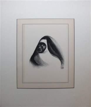 Al Hirschfeld - Ebony Sister