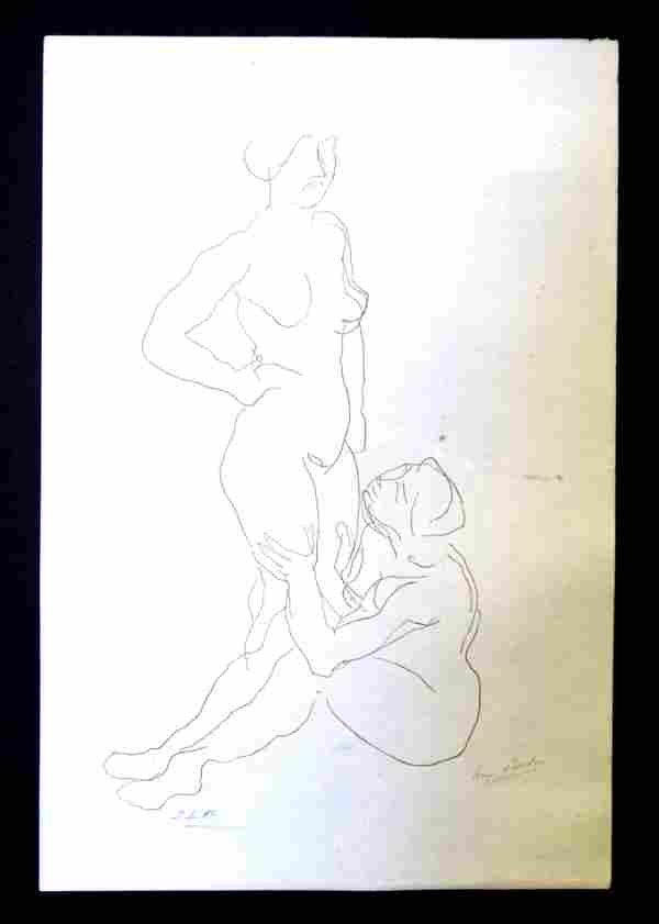 Auguste Rodin - Untitled