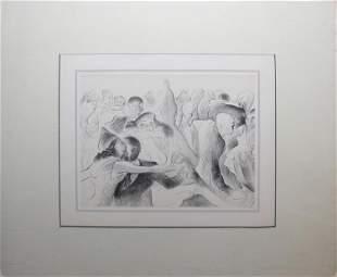 Al Hirschfeld - Slow Blues