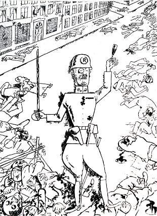 George Grosz (after) - Tavola 16